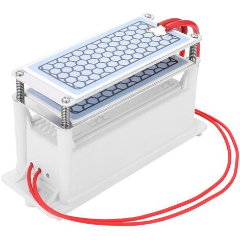 Generador de ozono de ceramica portatil, purificador de aire de agua, 10g/h