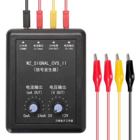 Generador de senal de 4-20 mA 0-10 V, transmisor de voltaje de corriente de 24 V