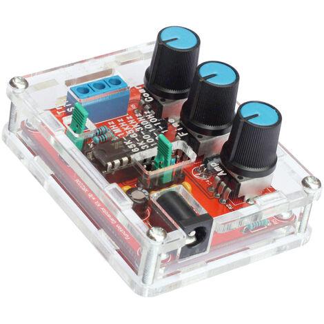 Generador de senal DIY Kit, seno / triangulo / Salida de la plaza, 1 Hz-1 MHz