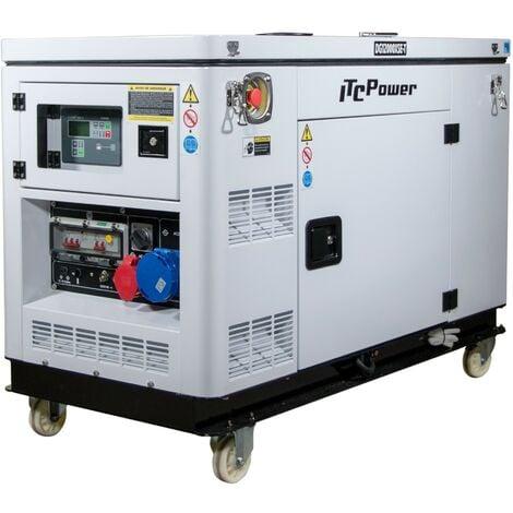Generador DG12000XSET Generador Eléctrico Diesel (Full Power) ITCPower