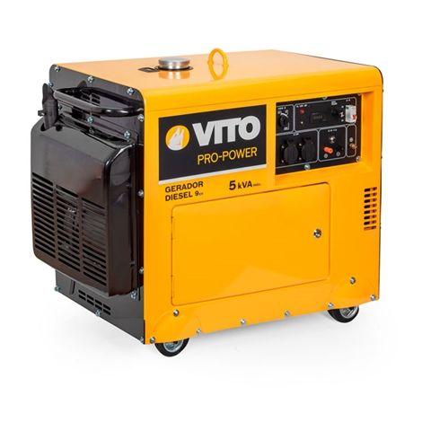 Generador Diesel Monofásico Professional 5K Vito Pro-Power