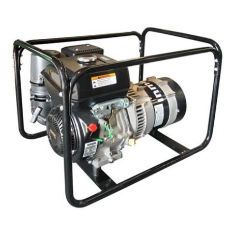 Generador eléctrico 7000w (7 kVA) 230v Monofásico Gasolina Arranque eléctrico Grupo electrógeno INMESOL AK-700