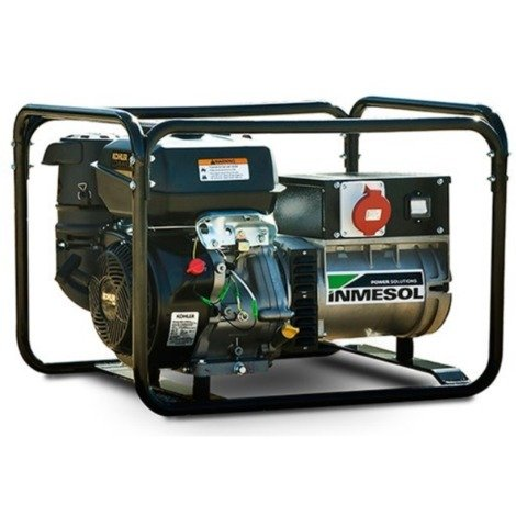 Generador eléctrico 7200w (9 kVA) 400-230v Trifásico Arranque Eléctrico Gasolina Grupo electrógeno INMESOL AK-900-E