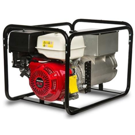 Generador eléctrico Honda 2200w (2,2 kVA) 230v Monofásico Gasolina Grupo electrógeno INMESOL AH-220