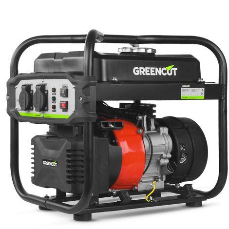 Generador electrico inverter motor gasolina 4 tiempos OHV 2400W 119cc - GREENCUT