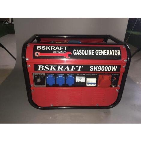 GENERADOR ELECTRICO MODELO SK9000W