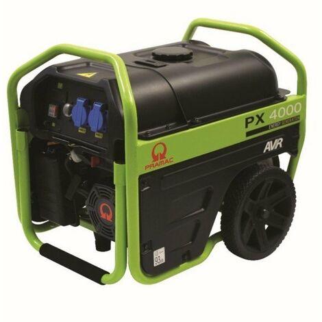 Generador Gas. Motor Pramac 208cc 230v 50hz 3kva Px4000 Avr