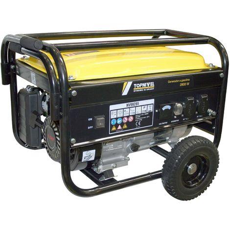 Generador Gasolina 4T/10W-40 2,8Kva 15Lt Nivel