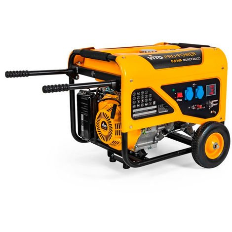Generador gasolina monofásico 5000W Vito