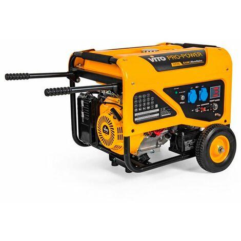 Generador gasolina monofásico 6000W Vito