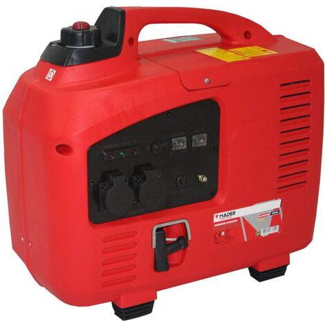 Generador Inverter 4 T - 2200 W - Digital - Silencioso - c/ Pulsador de reducción de consumo - MADER®