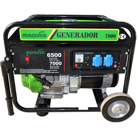 Generador MAQVER LT7000 CL arranque manual
