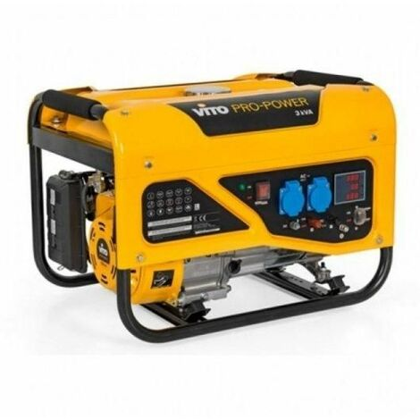 Generador Monofasico 3Kva 2500W 6,5Cv 196Cc Vito Pro Power