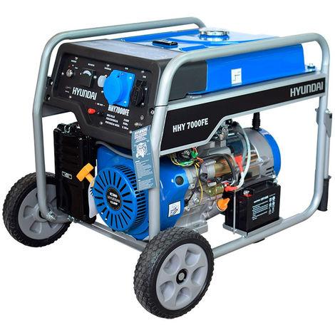 Generador monofásico 5000W HHY7000FEK