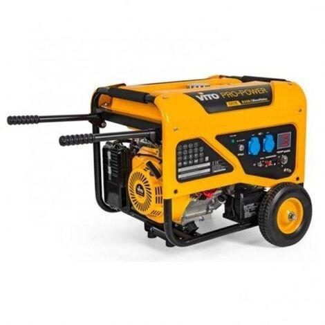 Generador Monofasico 8Kva Arranque Eléctrico Ruedas E Pega Vito Pro Power