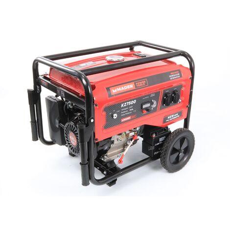 Generador Monofásico con Ruedas, 7.0Kva - MADER® | Power Tools