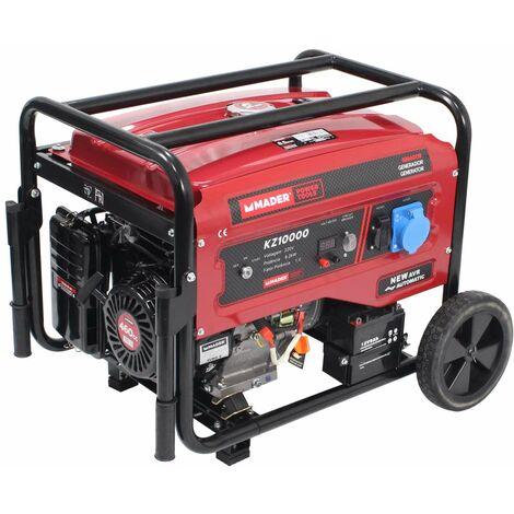 Generador Monofásico con Ruedas, 8.5Kva - MADER® | Power Tools
