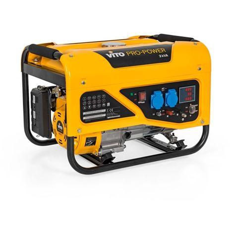 Generador Monofásico Professional 3K Vito Pro-Power