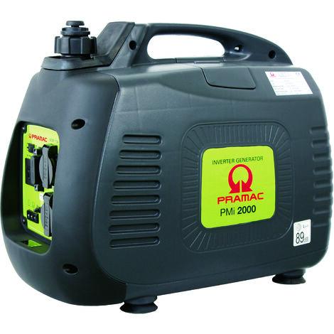 Generador Pramac PMi2000 inverter, gasolina, potencia LTP 2000 W, arranque manual
