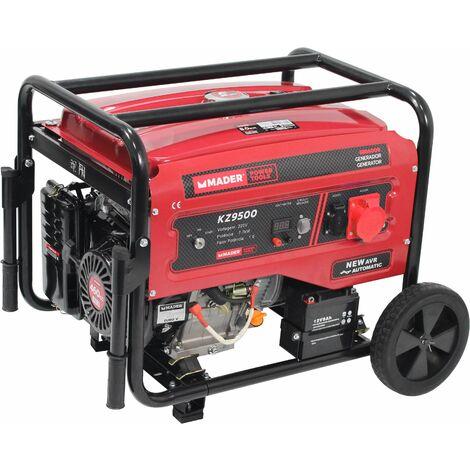 Generador Trifásico con Ruedas, 8.0Kva - MADER® | Power Tools