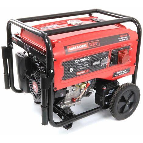 Generador Trifásico con Ruedas, 8.5Kva - MADER® | Power Tools