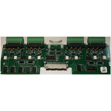 General Electric 110100501 Rev F GE Security Micro/5 8RP Reader Processor UTC PCB PLC