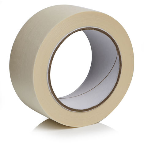 General Purpose Masking Tape - Natural (48mm x 50m) - 2 Rolls