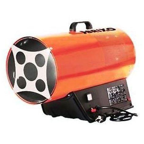 Générateur d'air chaud 11KW soufflants à gaz livré avec tuyau + détendeur Haute performance BRIXO