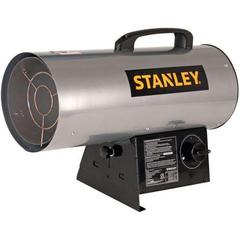 Générateur d'air chaud à gaz 17.5KW STANLEY réglable Radiateur soufflant à gaz 60000 BTU Volume 339 m2