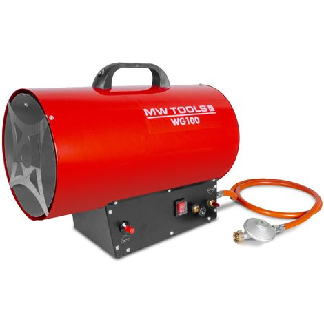 Générateur d'air chaud à gaz 30 kW MW-Tools WG100