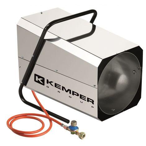 Générateur d'air chaud à gaz 42 kW Acier inoxydable.Dispositif d'allumage automatique.