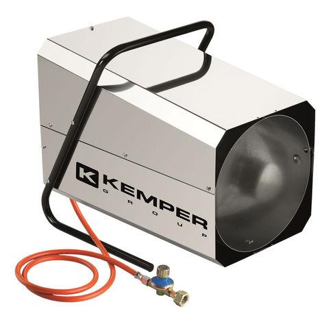 Générateur d'air chaud à gaz 42KW Kemper réglable Canon à chaleur gaz tuyau et détendeur KEMPER
