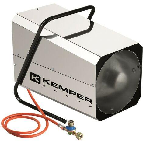Générateur d'air chaud à gaz 42KW Kemper réglable Radiateur soufflant à gaz tuyau et détendeur KEMPER