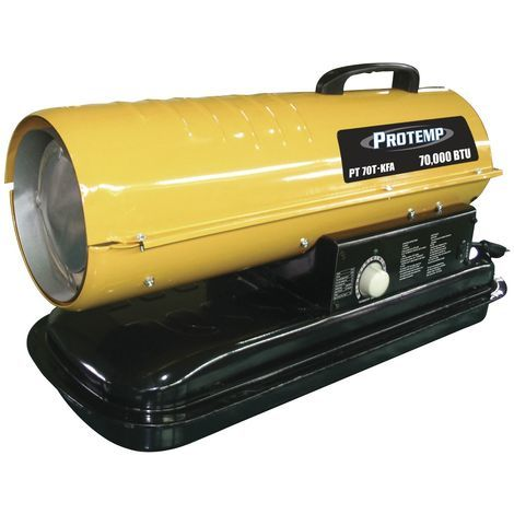Générateur d'air chaud au diesel 385 m³ Protemp PT70KFA