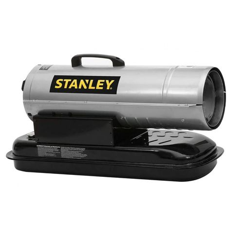 Générateur d'air chaud Diesel 20.5 KW STANLEY acier inoxydable. Alimentation Essence- Réservoir 18.92 Litres Consommation 2 L/H