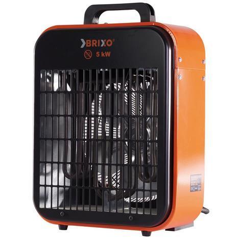 Générateur d'air chaud électrique 5000 W puissance réglable chauffage 100 m³