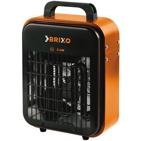 Générateur d'air chaud électrique Brixo Fan 2000 W L23 x P20 x H32 cm