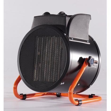 Générateur d'air chaud électrique Brixo PTC 5000 W L30 x P23 x H34 cm