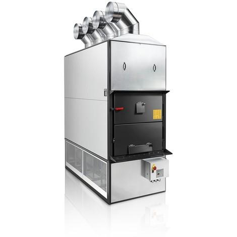 Générateur d'air chaud F 350 avec ventilateur