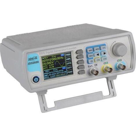 Générateur de fonction Joy-it JDS6600 JT-JDS6600 0 Hz - 60 MHz 2 canaux 1 pc(s)