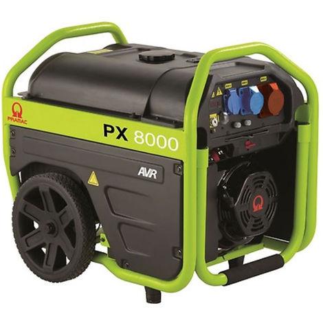 Générateur électrique moteur essence silencieux PRAMAC PX8000 400V
