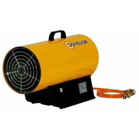 Generateur gaz propane air pulse mobile 10 a 16 kw300m3-h