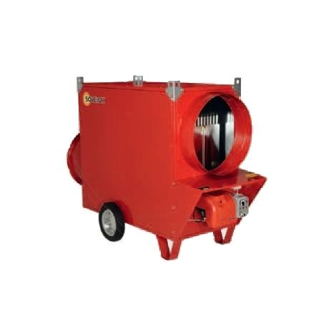 Générateur JUMBO SOVELOR avec ventilateur hélicoïde avec bruleur fuel ou gaz- jumbo135 - -