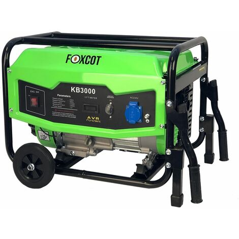 "main image of ""Generatore di corrente 2,8 Kw Foxcot KB3000 - -"""