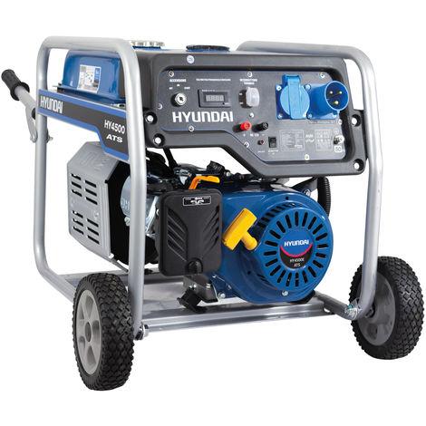 Generatore di corrente carrellato Hyundai 65016 - HY4500E ATS con AVR