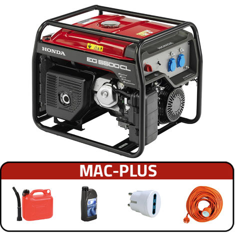 Generatore di corrente Honda EG 5500CL + MAC - PLUS