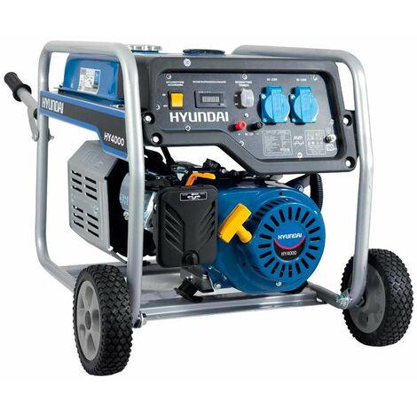 Generatore di corrente Hyundai 3,5 kW HY4000E 65011