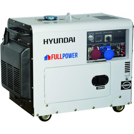 Generatore di corrente Hyundai 65230 - DHY8500SE-T con AVR