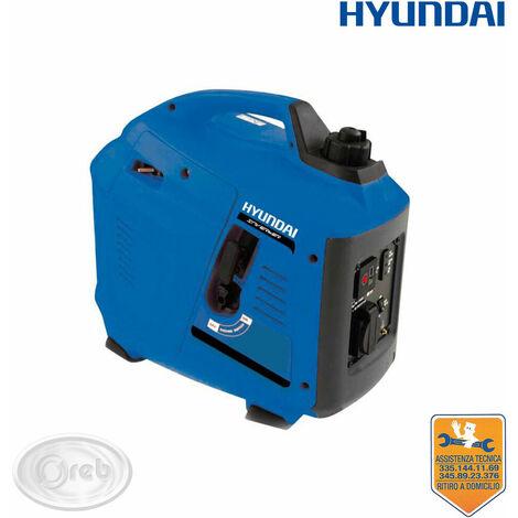 Generatore inverter hyundai silenziato 65154 tg1000i 1kw gruppo elettrogeno
