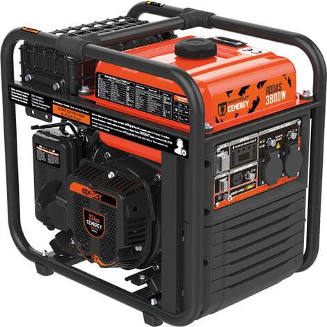 Genergy Generador inverter 4T rodas 3800W